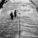 Mannen aan dek van schip - Graanoverslag Amsterdam