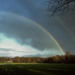 Regenbogen bij Kommer-rust Naarden