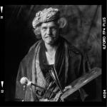 Klaas Hofstra als Rembrandt
