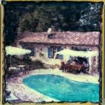 Huis met zwembad (Fr.)