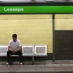 Metrostation Lesseps – Barcelona april 2017