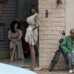 Dromend over vrouwen - Meknez Marokko