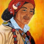 Tibetaanse man