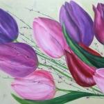 Lente tulpen