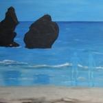 Dromen op het strand
