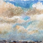 Wolkenluchten boven zee I