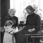 met mijn oma en tante
