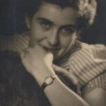 portret van mijn moeder, gemaakt door mijn vader