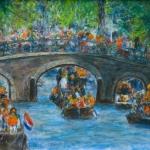 Feest in Amsterdam