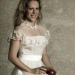 Yvette met appel