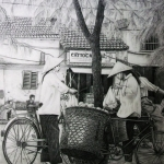 Saigon fruitvendor.