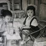 Hanoi kids.