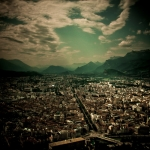 View over Grenoble