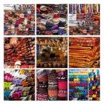 Kleurrijk Marokko (collage)