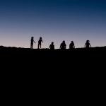 Zonsondergang 3 (woestijn)