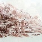 Berghelling in Samos.