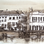 De IJsselkade in Zutphen