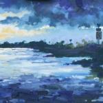 De IJssel bij Avond AT
