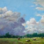 Wolken bij Hackfort PA