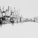 Vissersvloot Oudeschild