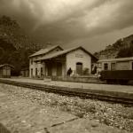 station Entreveaux