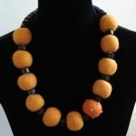 Oranje - elastiek