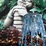 Boeddha in het licht
