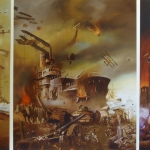 Triomf van de Grote Oorlog. paneel