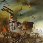 Triomf van de Grote Oorlog. middenpaneel