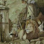 Sterrenbeeld Leeuw-Leo.