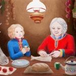 Gerda and the Lapp woman
