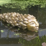 godin van het water