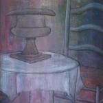 stoel met tafel