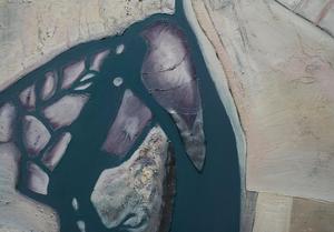 Kustlijnen zijn grensvlakken waar water en aarde elkaar raken. Slenken en geulen kronkelen door het landschap alsof het bloedvaten zijn.