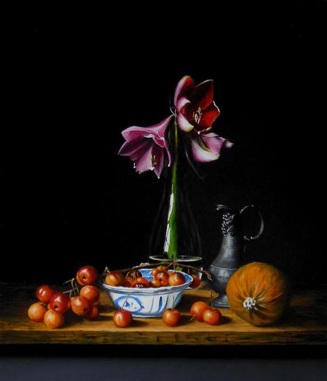 Amaryllis (35 x 30 cm)