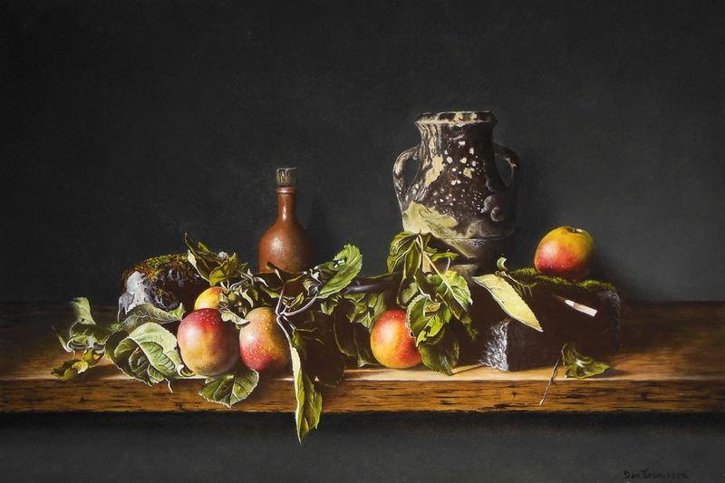 Stilleven appels (40 x 60 cm)