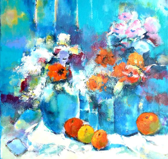 fleurig bosje bloemen