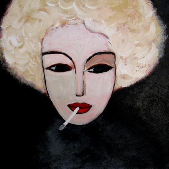Smoking Blonde 2