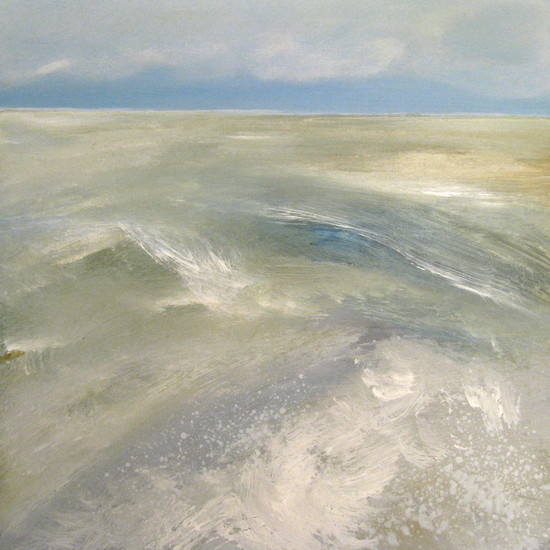 The Northsea touching the coast 1