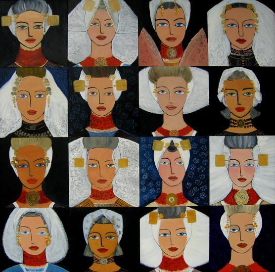 16 Zeeuwse meisjes