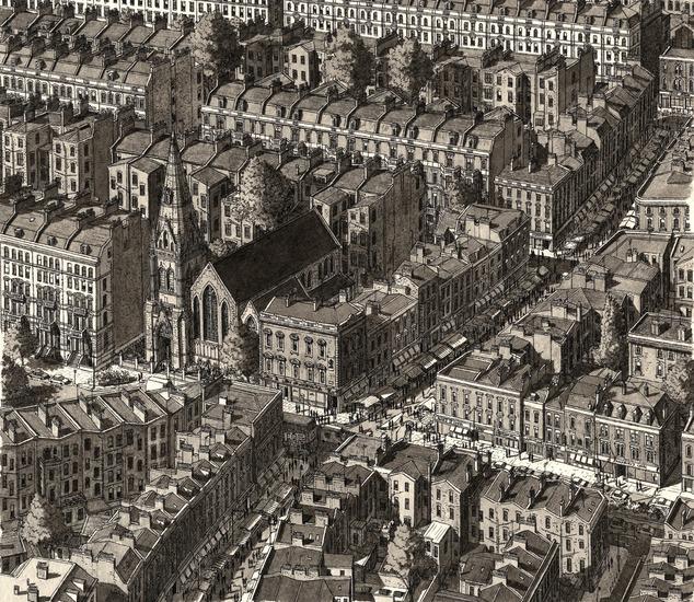 Markt in Londen