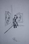 tekeningen en schetjes van vroeger
