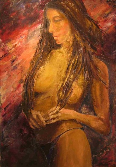 sensuele vrouw