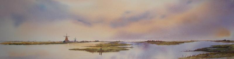De polder in mei