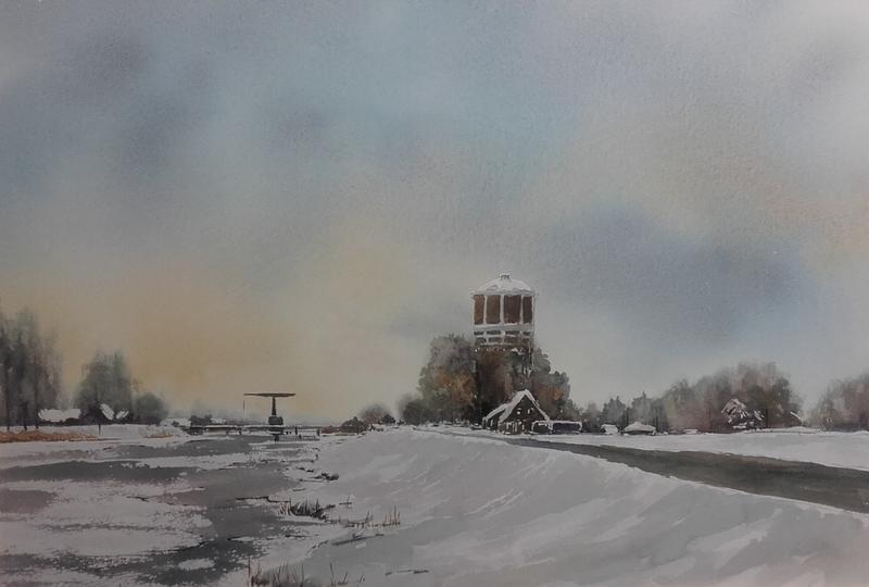 Winterse Watertoren