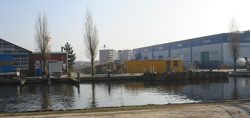 Haven en brug Poelgeest -1f
