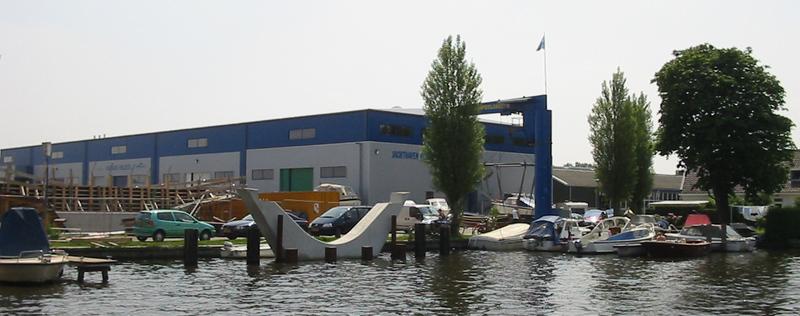 Haven en brug Poelgeest -1i