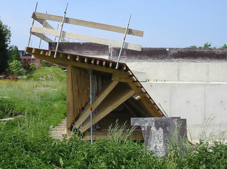 Haven en brug Poelgeest -1k
