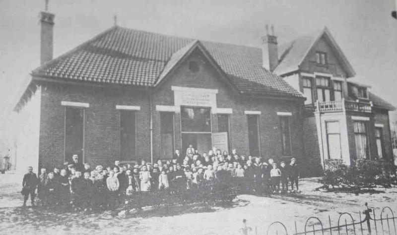 School rond 1910