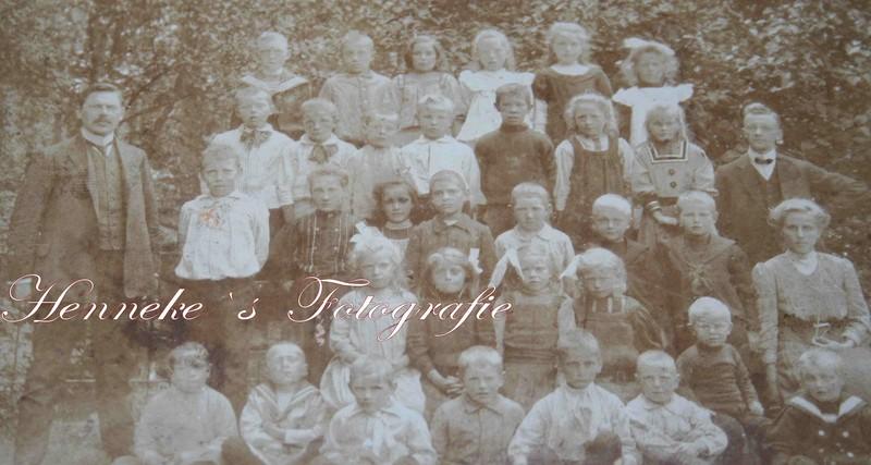 Schoolfoto rond 1915